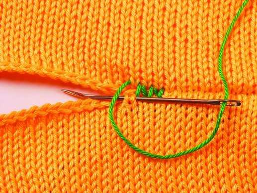 Как аккуратно сшить вязаную вещь 32