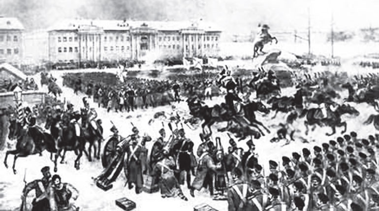 an overview of the infamous decembrists revolt of 1825 13092017 in 1825, after the death of  traveler overview 45 250  exquisitely preserved house and belongings of the russian 'decembrists' who lead the revolt.