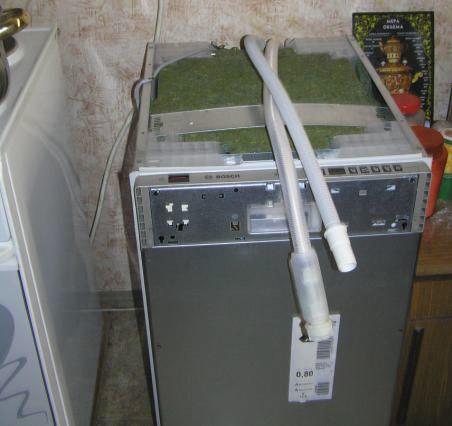 Как подключить посудомоечную машину бош