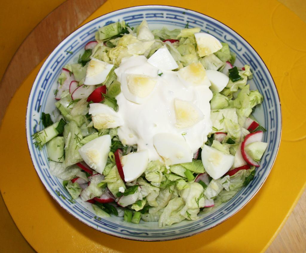 Фото салат весна