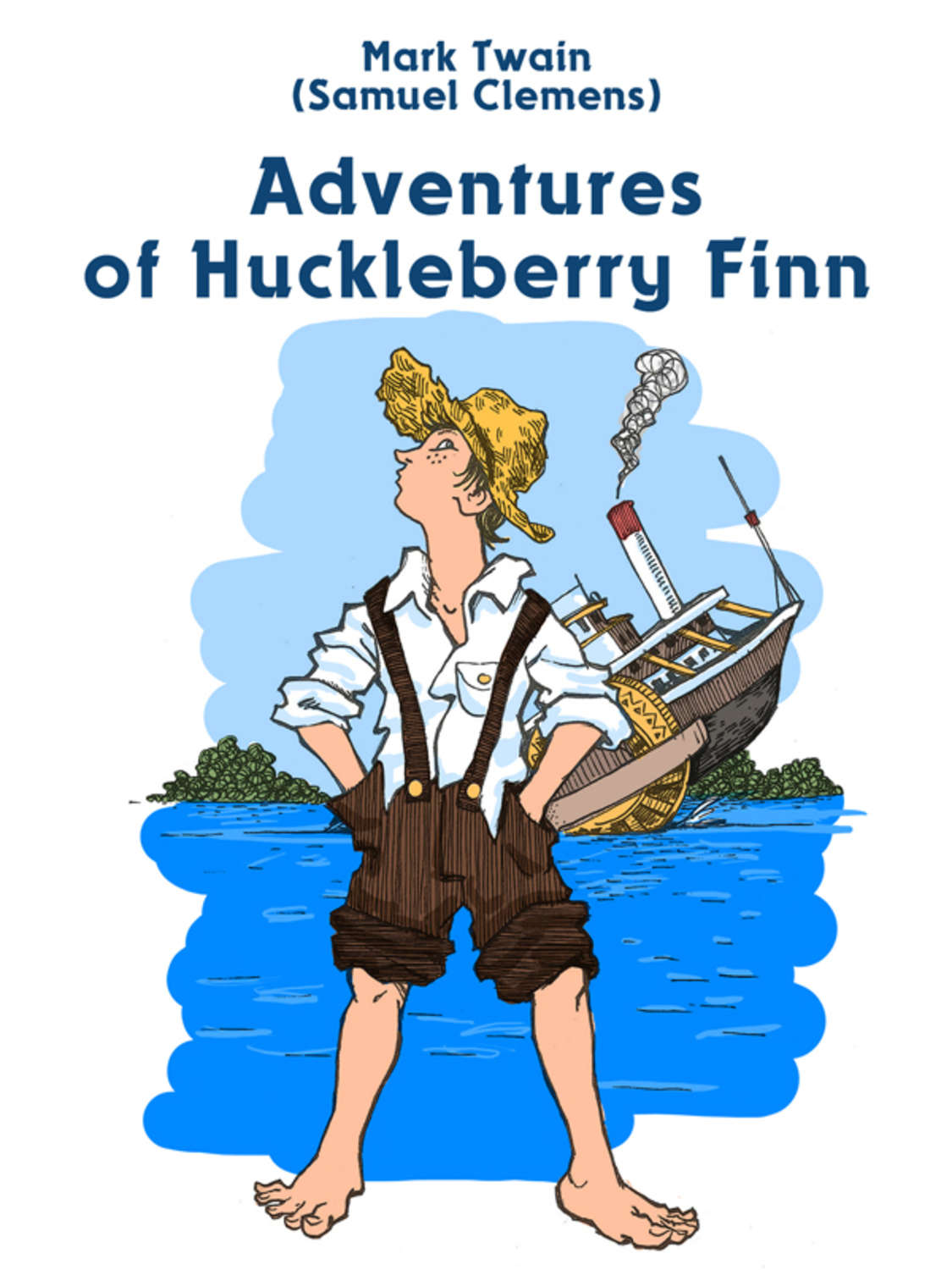 the theme of conflict between society and the individual in the adventures of huckleberry finn by ma