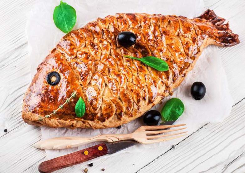 Пирог рыбка рецепт фото