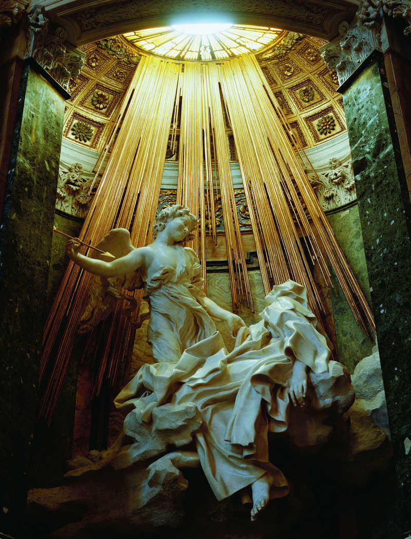 a critique of gian lorenzo berninis cornaro chapel in rome Ecstasy of saint teresa in the cornaro chapel ecstasy of saint teresa by bernini cornaro chapel, santa maria della vittoria, rome.