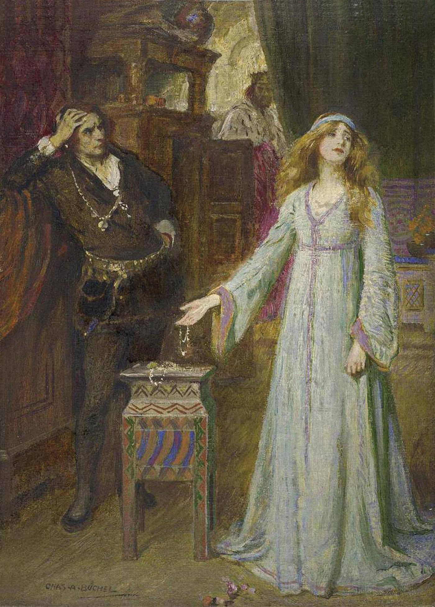 hamlet and ophelia Ophelia is a character in william shakespeare's drama hamletshe is a young noblewoman of denmark, the daughter of polonius, sister of laertes, and potential wife of prince hamlet.